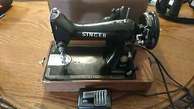 vintage singer sewing machine 99k 1953