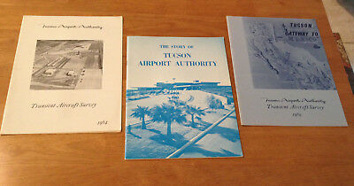 Story of Tucson Airport Authority Collectible Booklet & Vintage Aircraft Surveys