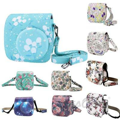 For Fujifilm Instax Mini 9 8 8+ Film Instant Camera Carrying Case Shoulder Bag