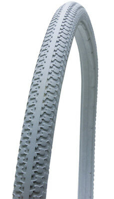 Krypton Solid Wheelchair Tyre - Grey - Size 24 x 1-3/8