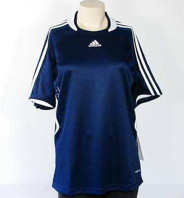 Adidas ClimaCool Formotion Trofeo Navy Blue Soccer Shirt Womans Medium M NWT 4b6771c9a718