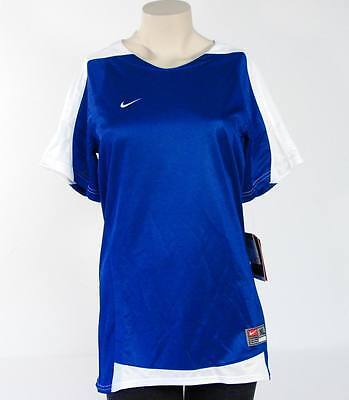 Nike Dri Fit Royal Blue US Game Jr. Athletic Shirt Girls XL NWT $50