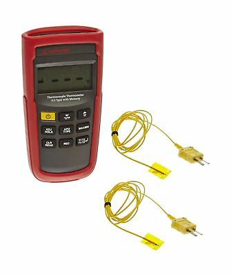 AMPROBE TMD-51 Thermocouple Thermometer K/J Type with Memory