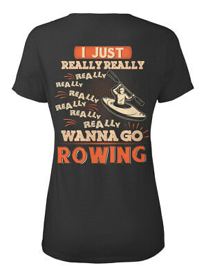 Casual Awesome Rowing - I Just Really Wanna Go Standard Women's T-Shirt
