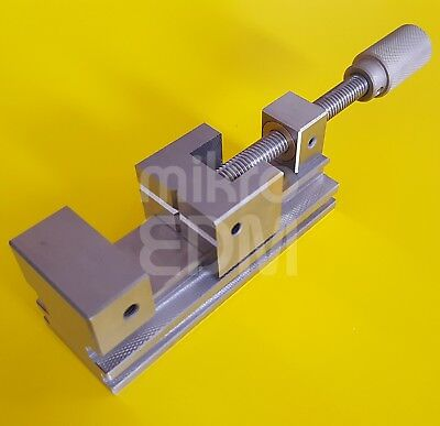 Precision Stainless Steel EDM Vise Toolmakers Vise with 75 mm Jaw Opening