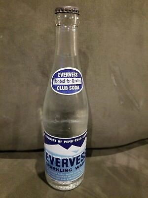 12oz Evervess Sparkling Water ACL Soda Bottle By Pepsi
