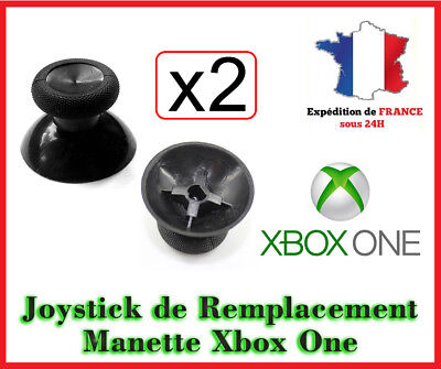 2x Joystick remplacement manette XBOX ONE Stick analogique thumb bouton