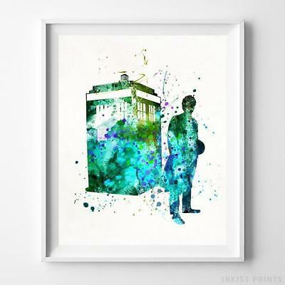 Dr Who Tardis Giant 1 Piece  Wall Art Poster TVF135