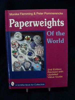 Schiffer Paperweights Identification & Price Quide Hard Cover  Mint Condition