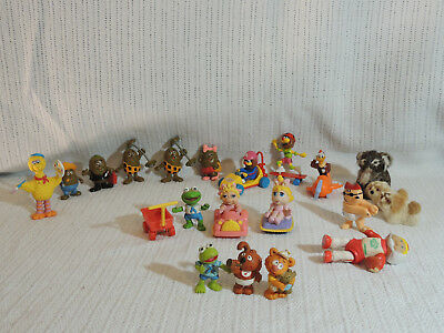 VINTAGE HAPPY MEAL TOYS AND ASSORTRED FIGURINES BULK LOT (21 toys)