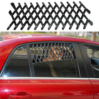 Pet Dog Travel Car Window Grill Vent Ventilator Guard Mesh Security Lattice S L