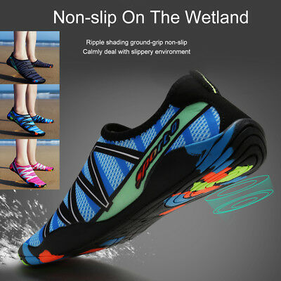 Quick-Dry Water Shoes Barefoot Aqua Socks Yoga Beach Swim Pool Exercise Surf