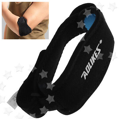 Tennis Golfer Elbow Support Epicondylitis Brace Strap Lateral Pain Syndrome