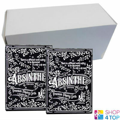12 Decks Ellusionist Absinthe Prohibition V2 Playing Cards Bicycle Sealed Box