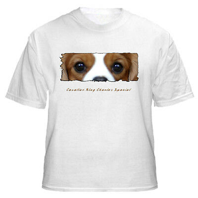 """Cavalier King Charles Spaniel  # 2  """"The Eyes Have It""""   T shirt"""