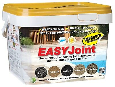 Easy Joint PAVING GROUT -  VARIETY COLOUR - Jointing compound 12.5kg EASYJoint
