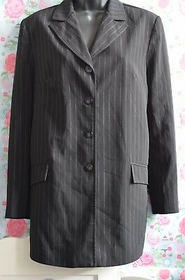 Additions UK Size 12 Ladies Black MATERNITY Suit Jacket Blazer