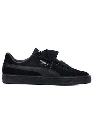 PUMA SUEDE HEART EP NERE Donna 36692201
