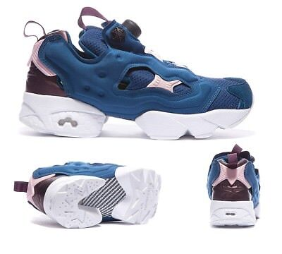 wholesale dealer bd308 7fc6f ... mens sg football boots 9d9e3 fcd67  netherlands womens reebok instapump  fury x face black blue white trainers rrp 119.99 f909f cb98b