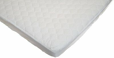 American Baby Company Portable Mini Crib Mattress Pad Cover White Bedding Foam