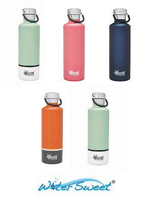 Cheeki Classic Insulated 600 ml Stainless Steel Water Bottle -Choose your Design