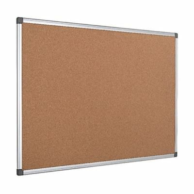 Bi-Office Aluminium Frame Cork Notice Board 1200x900mm CA051170 [BQ42051]