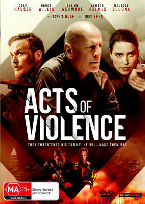 Acts of Violence  - DVD - NEW Region 2, 4
