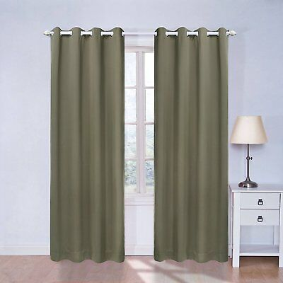 Blackout Curtains 84 Inches Long for Bedroom, Living Room, Blackout Blinds, X by