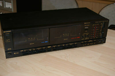 SHARP Stereo Kassetten Deck RT 1000