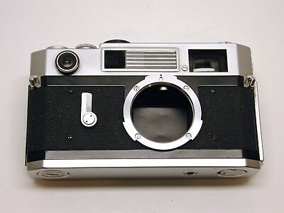 CANON 7s 35MM FILM RANGEFINDER CAMERA BODY..LOOKS AND WORKS FANTASTIC..CLASSIC