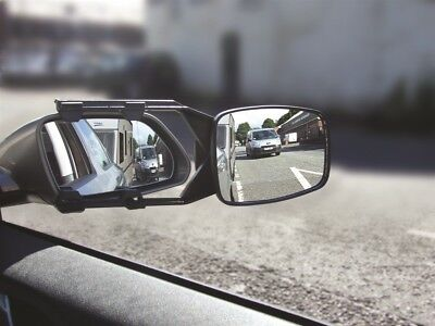 Caravan Towing Mirrors Steady View - Twin Pack Pair - E Marked