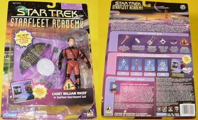 Star Trek Playmates  TNG Starfleet Academy - Cadet William Riker #16002