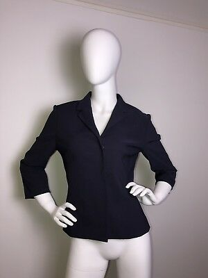 Mango Blazer 38 S Violett Smoking edel party figurbetont lila MNG suit Retro