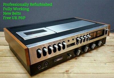 REFURBISHED Ferguson 3287 K Cassette Tape Player Deck Vintage 1970s Dolby 3V22