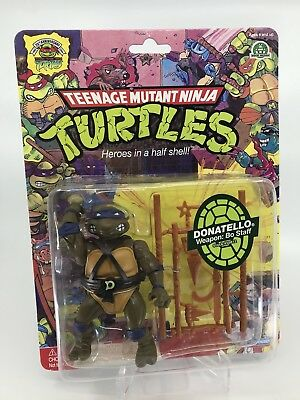 Donatello MOC 25th Anniversary Figur TMNT Turtles Vintage Commemorative