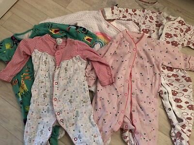 bf098151c9fa BABY GIRL CLOTHES 3-6 Months bulk top and babygrow skeepsuits NEXT ...