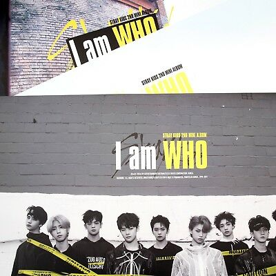 [Stray Kids FOLDED Posters]I am WHO/My Pace/POSTER:A/B/C/A+B+C