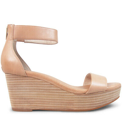 Wittner Ladies Shoes Nude Leather Wedges