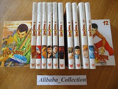 LOT MANGA ** HIGH SCHOOL 12 tomes ** EO Jeon Sang Young INTEGRALE SERIE COMPLETE