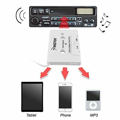 Mp3 To Cassette 3.5mm AUX Adapter Converter Car Tape Player Phone CD Audio Music