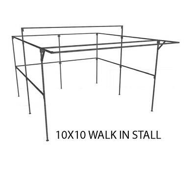 Market Stall frame 10ft x 10ft walk-in show stand
