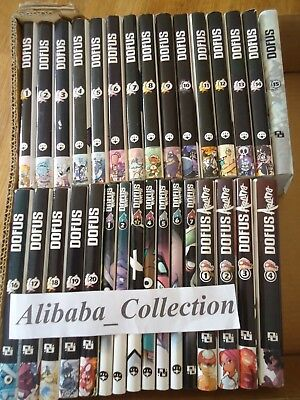 LOT MANGA ** DOFUS + ARENA + MONSTER 31 volumes ** Ankama VF TBE SERIE