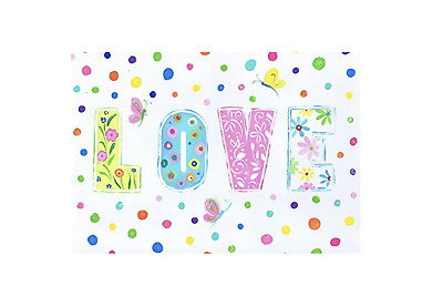 The Kids Room by Stupell Love with Polka Dots Rectangle Wall Plaque