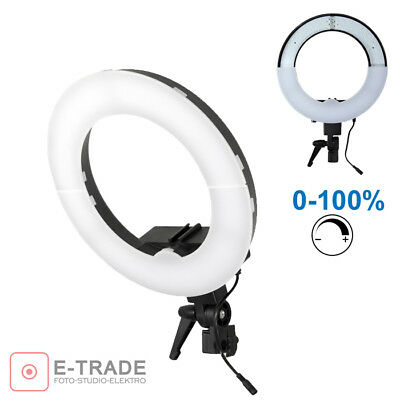 RING LAMP 180 LEDs Dimmer 0-100% / ringlight Ring lamp for MAKRO FACE BEAUTY 35W