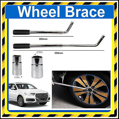 New Car Van Brace Extendable Wheel Socket Tyre Lug Nut Wrench 17 19 21 23mm Easy