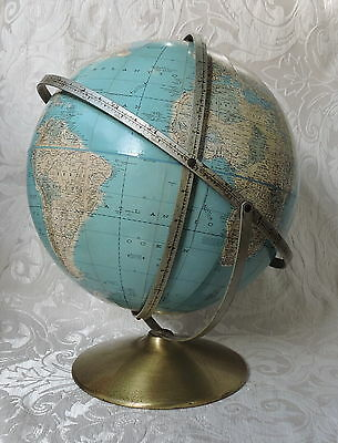 Mappamondo Vintage Rand Mc Nally, Made in USA, c 1970,  Ø 30 cm Antique Globe