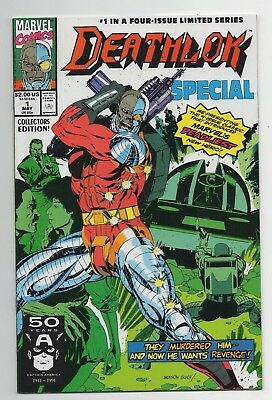 Marvel Comics Deathlok Special #1 Copper Age Four-Issue Limited Series