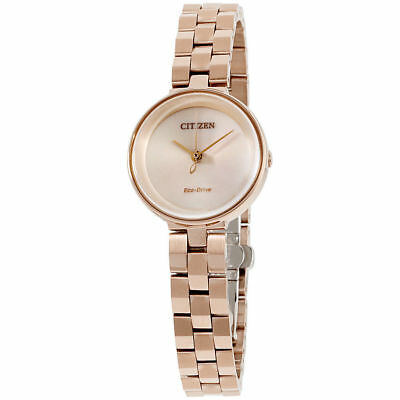 Citizen Eco-Drive Women's EW5503-83X Ambiluna Rose Gold Tone 25mm Watch