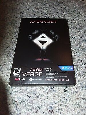 Axiom Verge: Multiverse Edition (Sony PlayStation 4,) PS4/Inserts Only/No Game