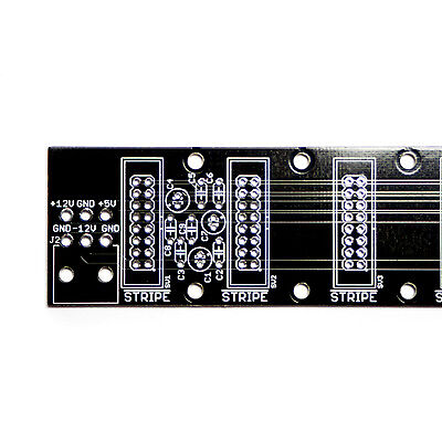 Synthrotek Noise Filtering Power Distribution Board PCB Bus Eurorack Modular